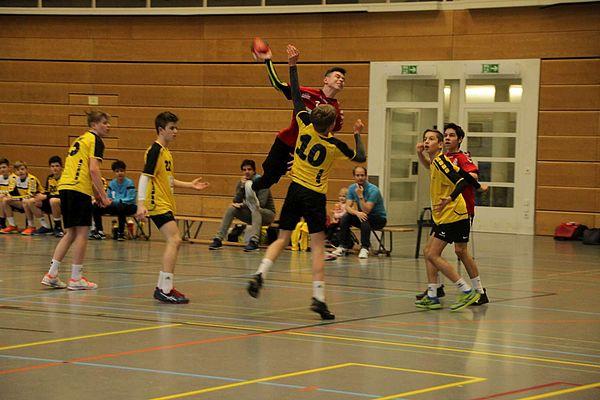 Spielbericht HSG Aargau Ost - HC GS Stäfa